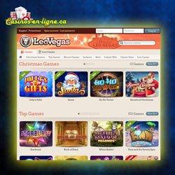 jeux de casino Leo Vegas